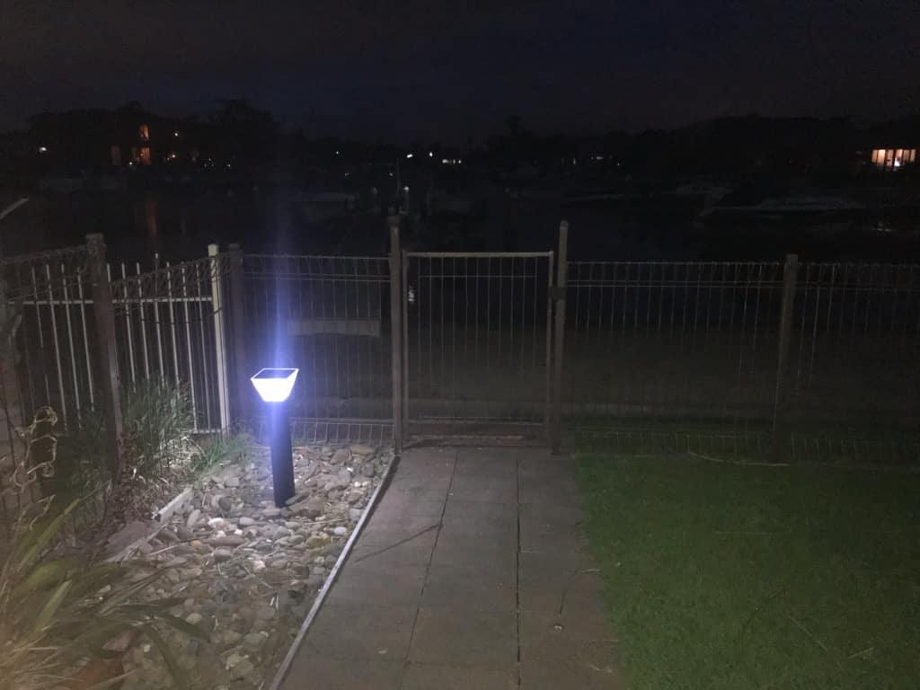 LED Solar bollards light