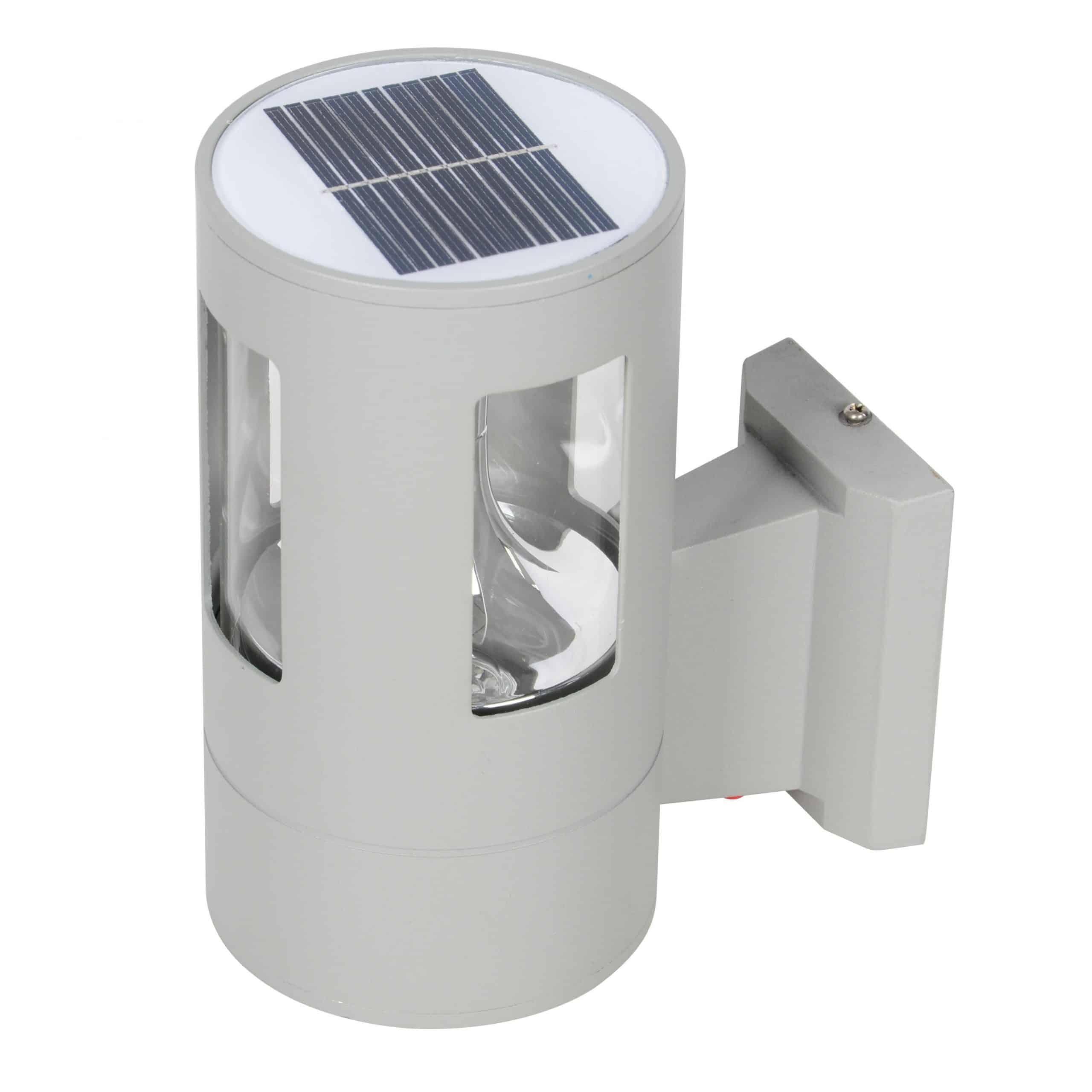 Solar LED Wall Light PLS-WL-2W-3K
