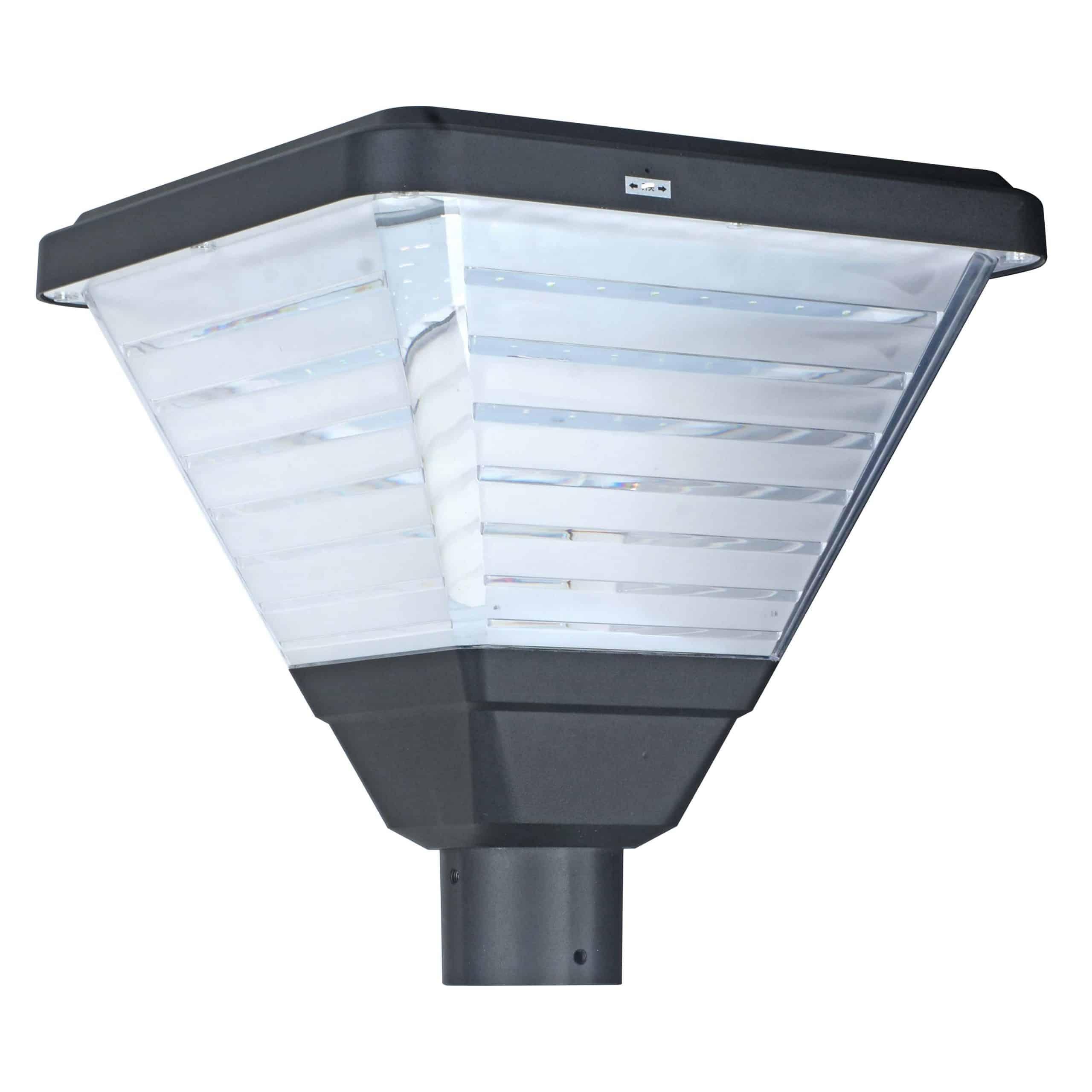Solar LED Post Top Light PLS-20W/PTG