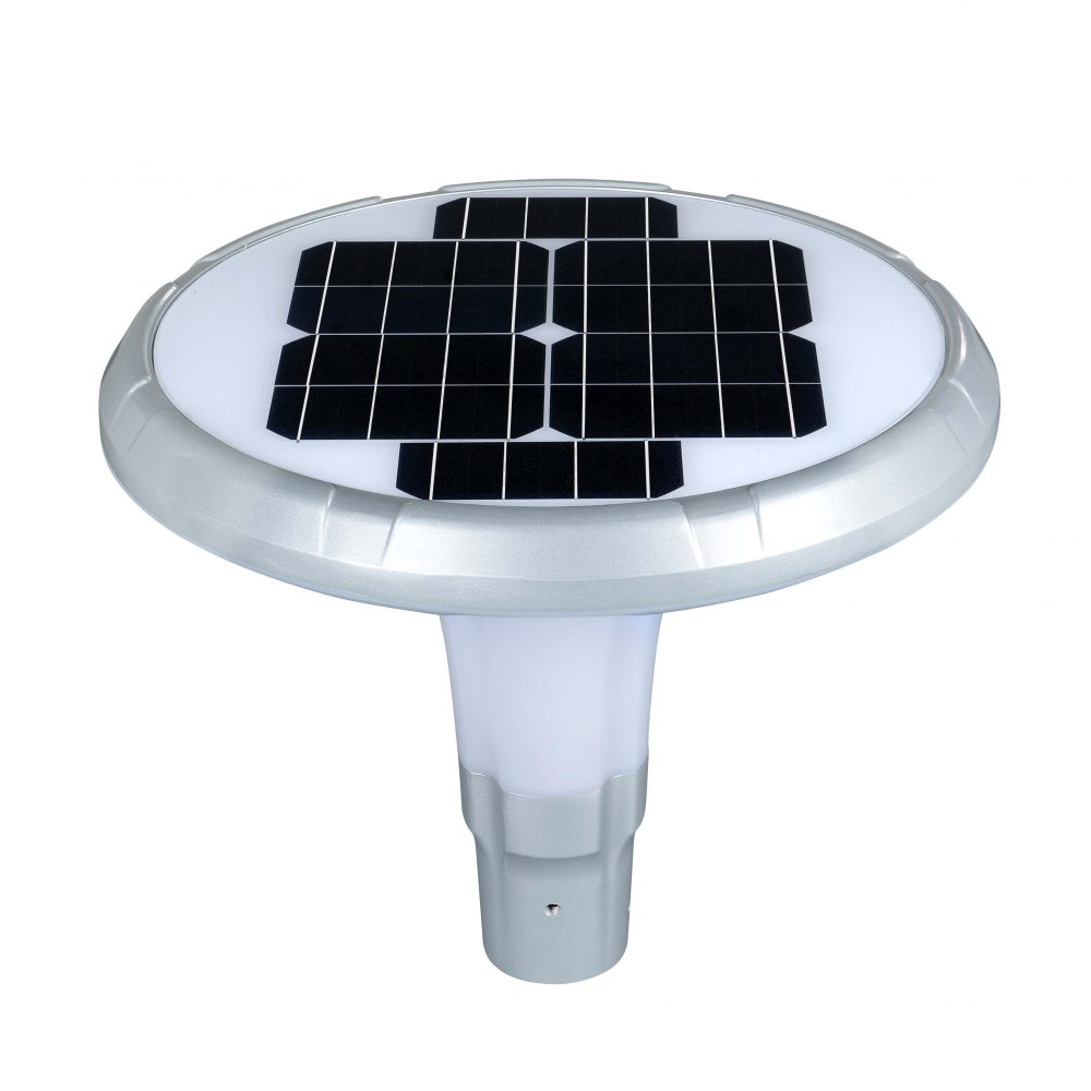 Solar LED Post Top Light PLS-25W/PTG