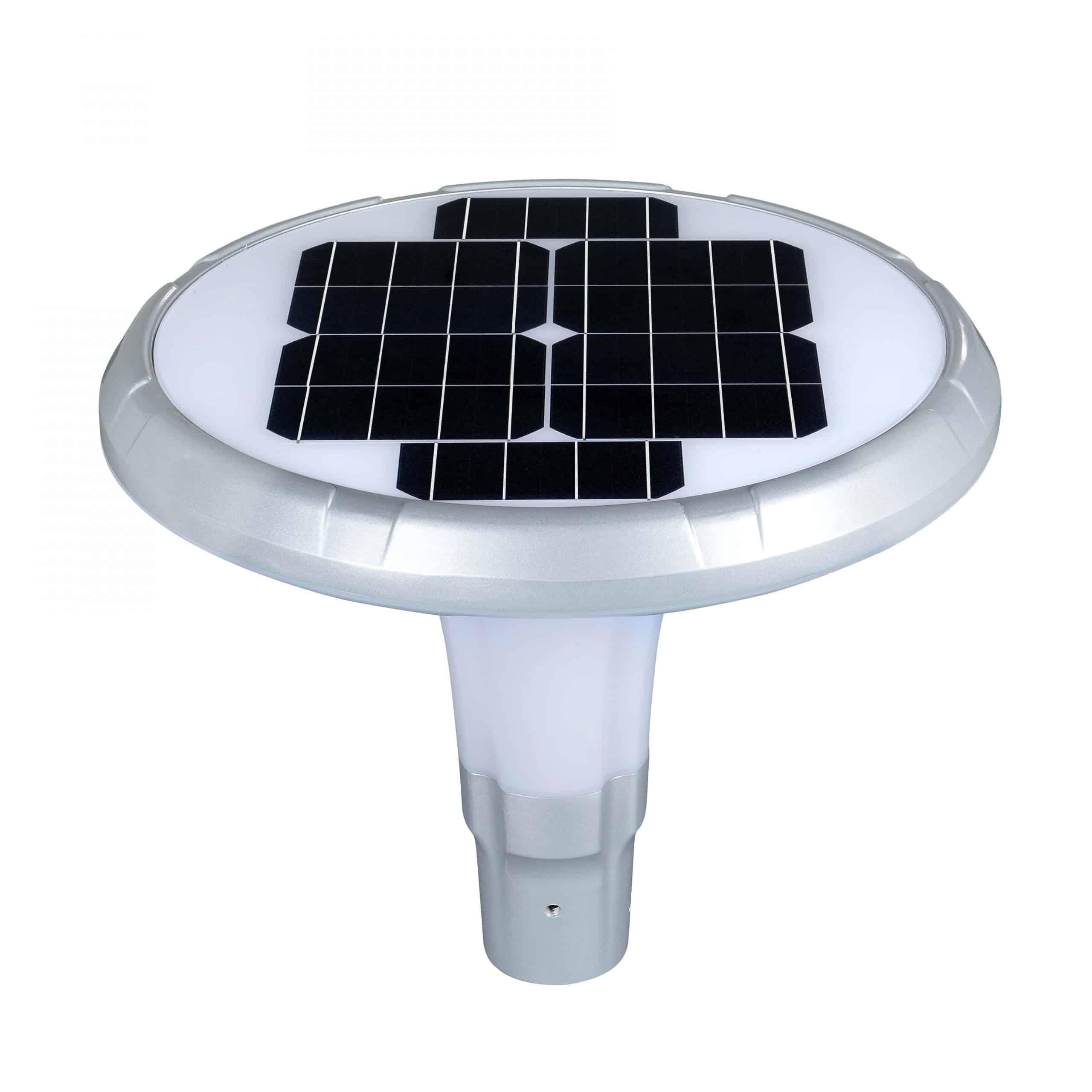 Solar LED Post Top Light PLS-25W/PTG