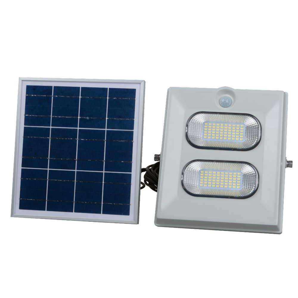 Solar LED Flood Light PLS-FL100W-6K/G/S
