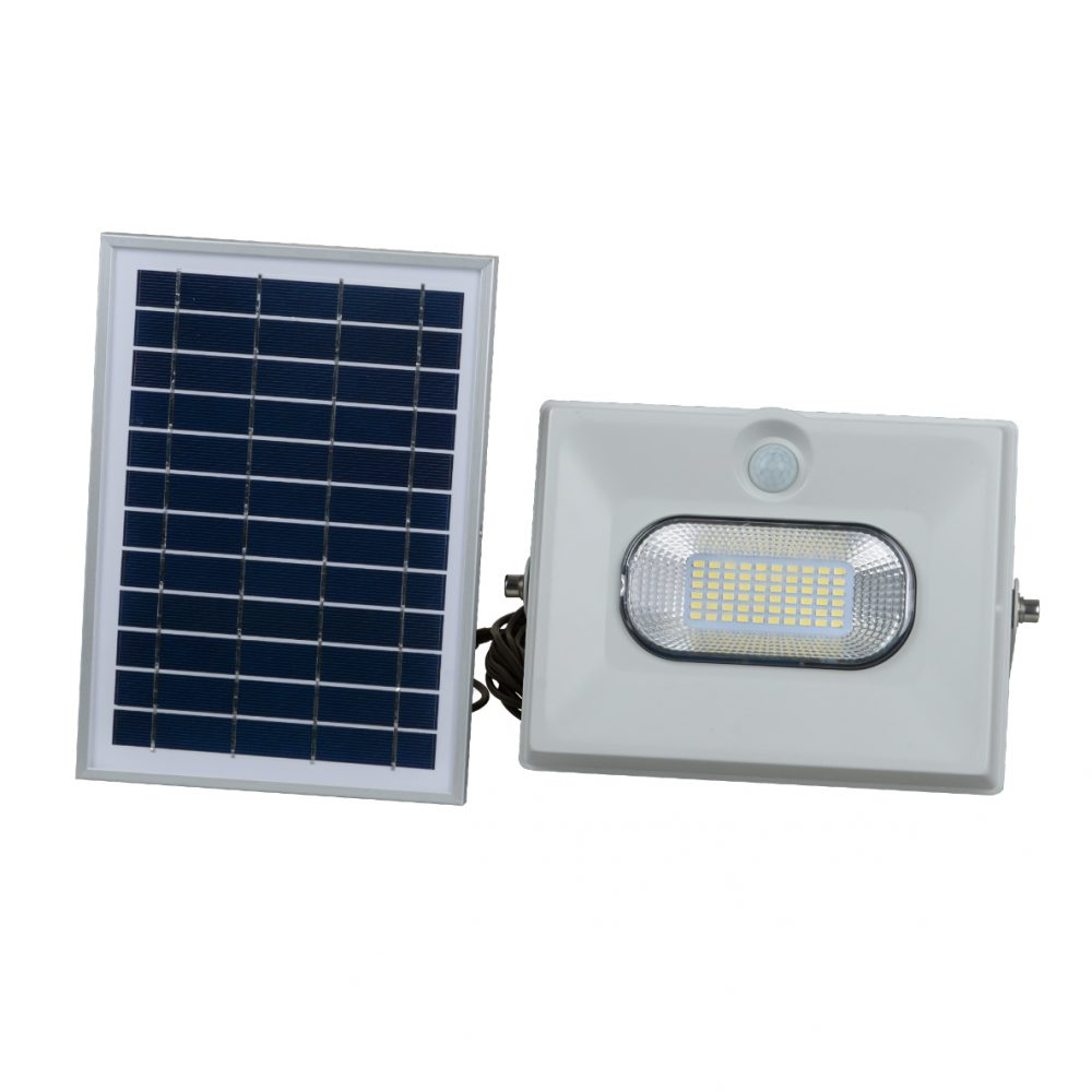 Solar LED Flood Light PLS-FL50W-6K/G/S