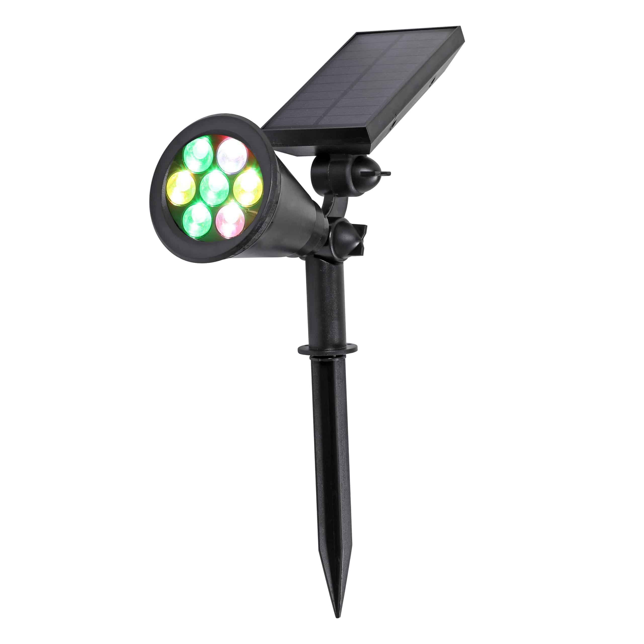 Solar LED Garden lights PLS-GL7W-RGB
